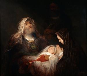 Darstellung des Herrn: Simeon und Jesus