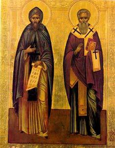 Hl. Cyrill und hl. Methodius