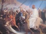 61. Einzu Jesu in Jerusalem