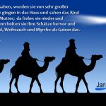 Jan Webmedien, Dreikönigstag
