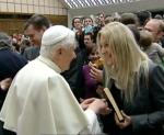 Papst Benedikt und Vassula