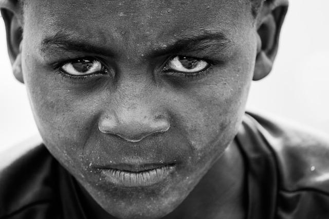 Afrikanischer Junge