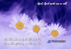 Jan Webmedien im April