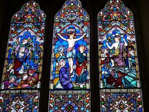 Ostern, Glasfenster