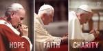 Johannes Paul II., Benedikt VI., Franziskus
