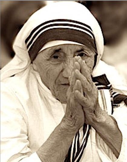 hl. Mutter Teresa von Kalkuta