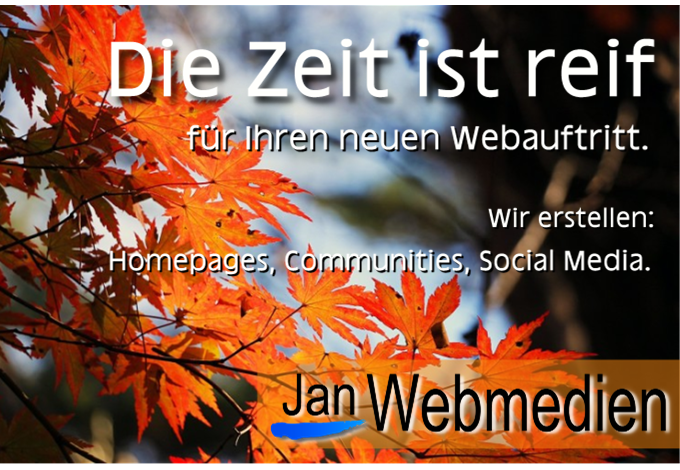 Webdesign, Jan Webmedien