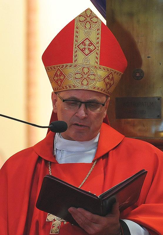 Diözesanbischof von Leslau Wiesław Mering