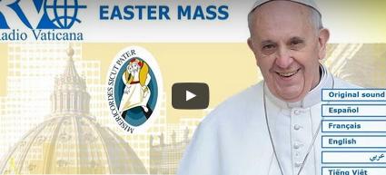 Ostermesse live aus dem Vatikan