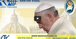 Ostervigil aus dem Vatikan, 2016