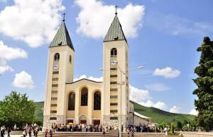 Kirche in Medjugorje.