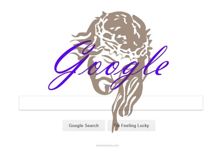 Google Doodle mit Jesus