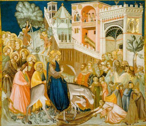 Einzug Jesu in Jerusalem, Assisi Fresco