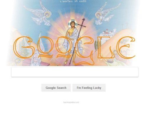 Google Doodle, Ostern, Jesus Christus