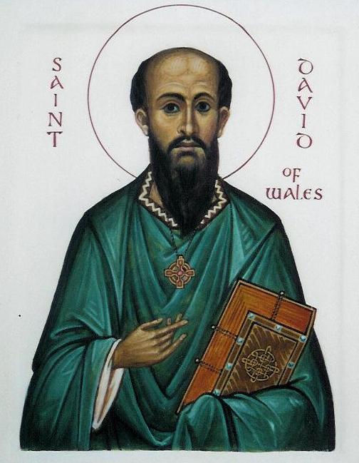 Heiliger David, Bischof von Wales