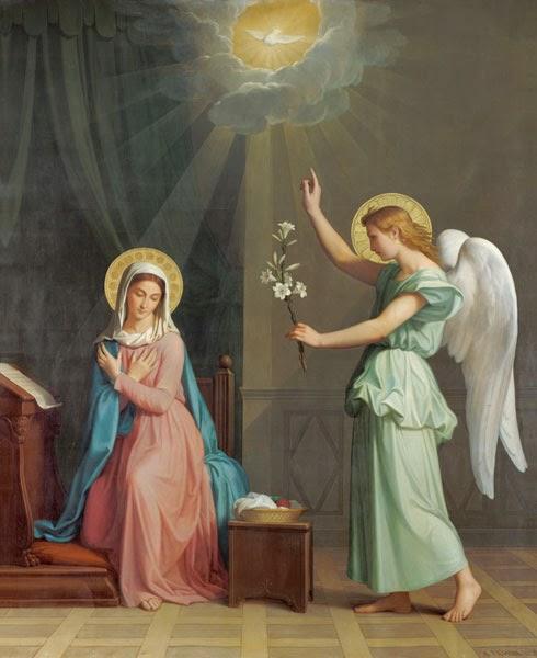 Annunciation, Mariä Verkündigung