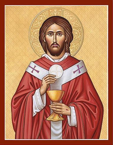 Jesus Christus, Ewiger Hoherpriester