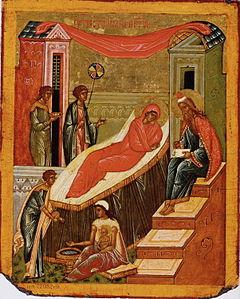 Geburt Johannes des Täufers