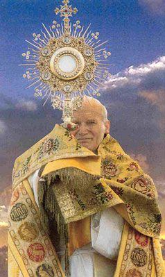 Johannes Paul II., Allerheiligste