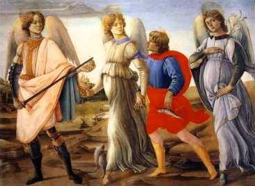 Heilige Erzengel Michael, Gabriel und Raphael
