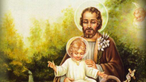 Heiliger Josef mit Jesuskind, Kathspae